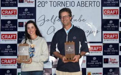 Aberto do Golfe Clube Aretê Búzios premia Roberto Faria e a jovem Valentina Bosselmann