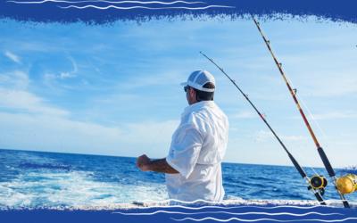 Pescaria cercada pelas belezas naturais